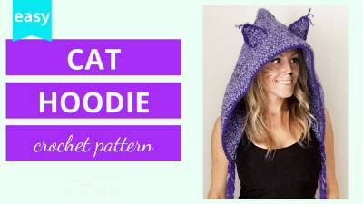 crochet cat hood pattern tutorial
