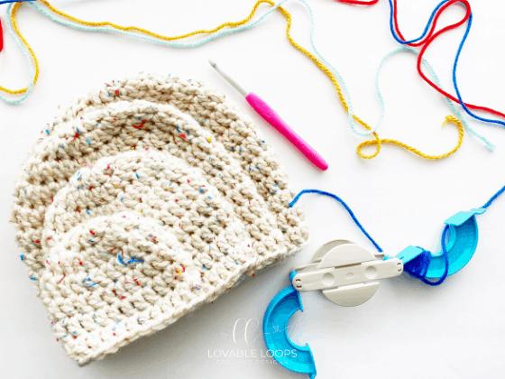 bulky beanie crochet pattern free