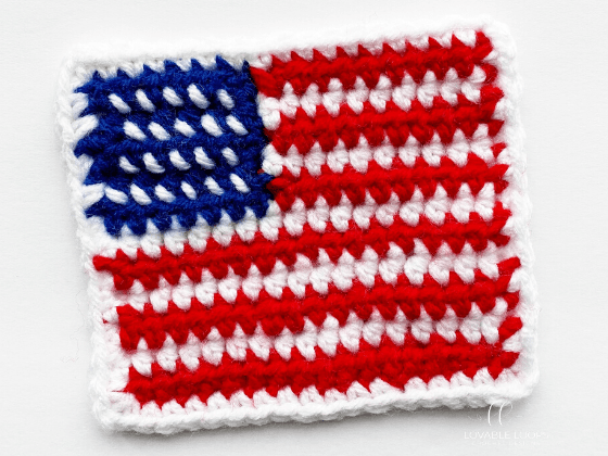 american flag applique crochet pattern free and easy