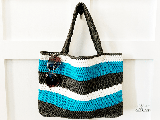 summer tote bag crochet pattern free