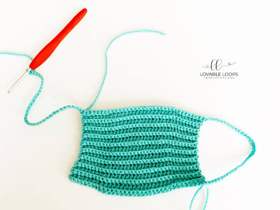 face mask free crochet pattern
