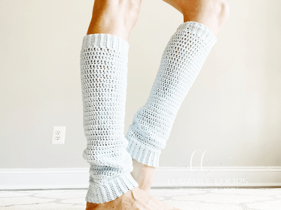 crochet leg warmers pattern free