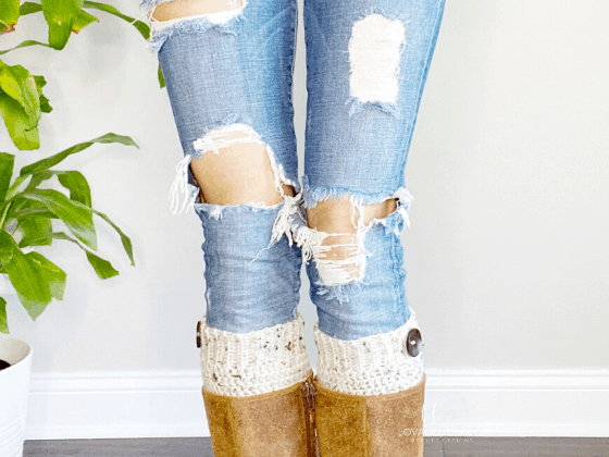 boot cuffs free crochet pattern