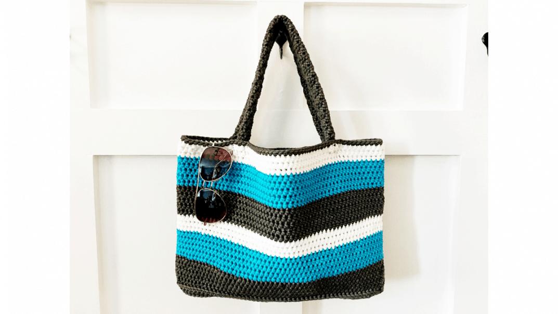 summer tote bag crochet pattern