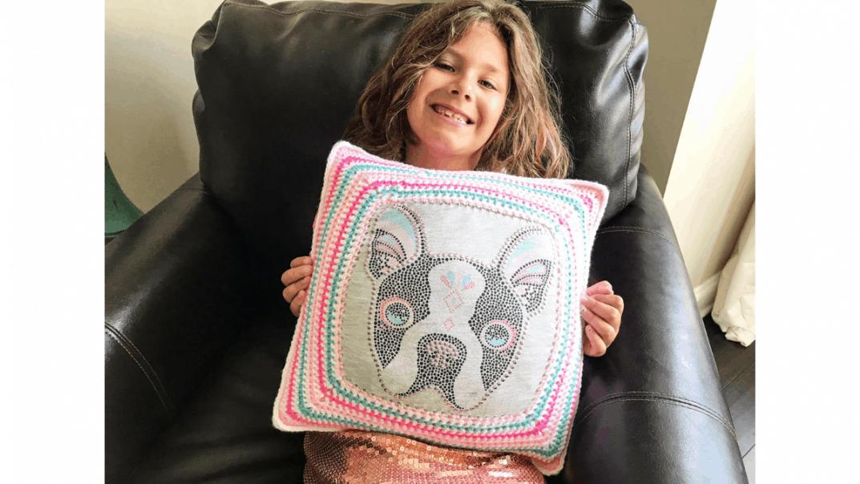 crochet pillow crochet pattern