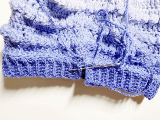 bobble stitch beanie crochet pattern