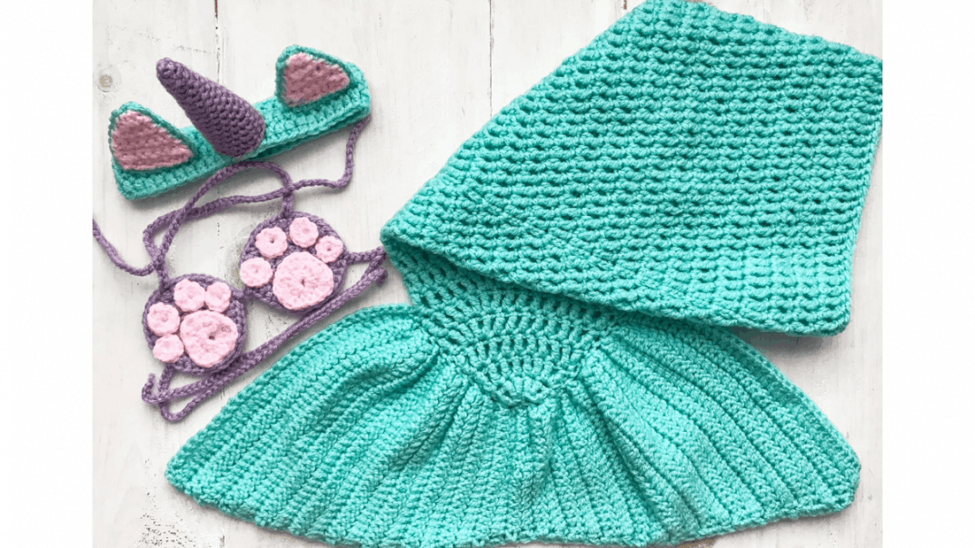 mermaid costume crochet pattern
