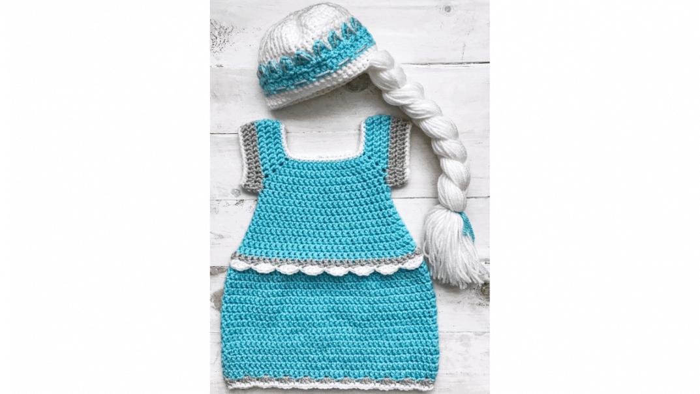 elsa costume crochet pattern