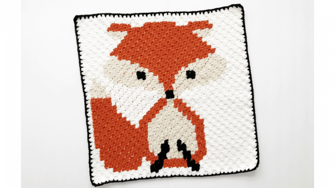 Crochet Fox C2c Baby Blanket Lovable Loops