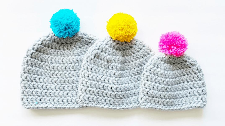 super bulky beanie crochet pattern