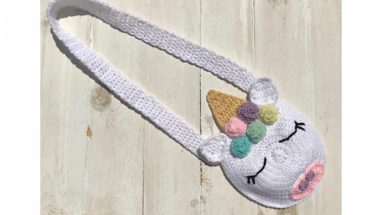 unicorn purse crochet pattern