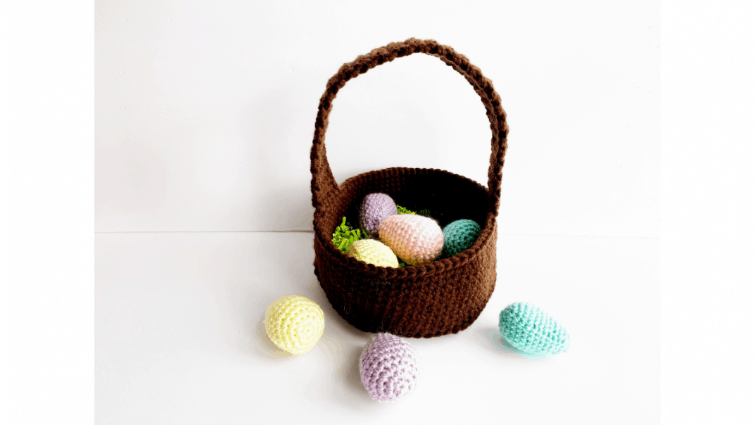 easter basket free crochet pattern