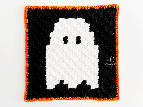 corner to corner ghost crochet pattern