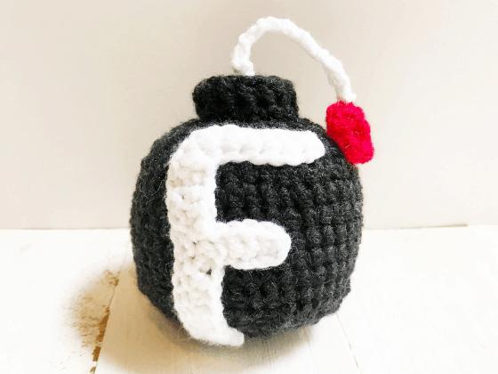 f-bomb crochet pattern
