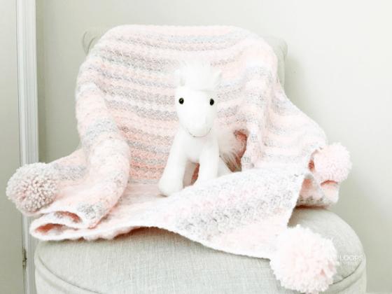c2c baby blanket crochet pattern free