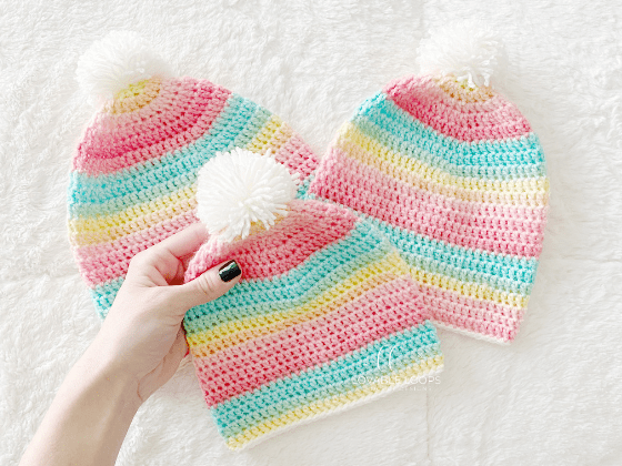 light weight beanie crochet pattern free
