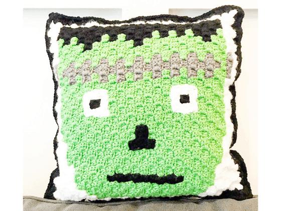 frankenstein pillow crochet pattern