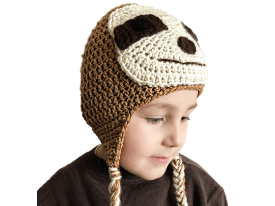 sloth hat crochet beanie crochet pattern free