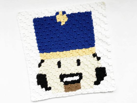 corner to corner nutcracker crochet pattern