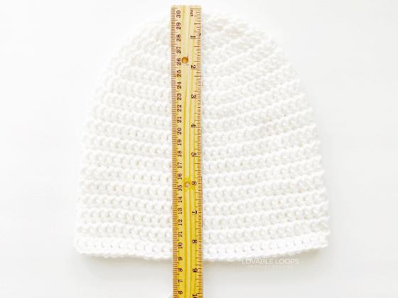 double crochet beanie crochet pattern free