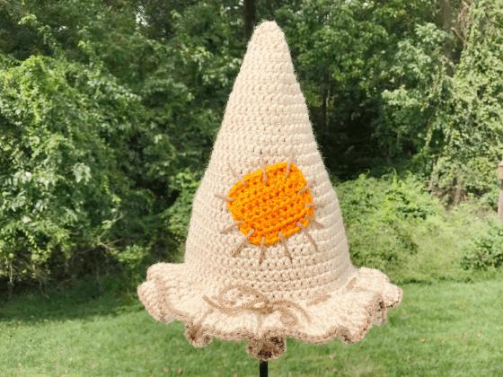 scarecrow hat crochet beanie crochet pattern free