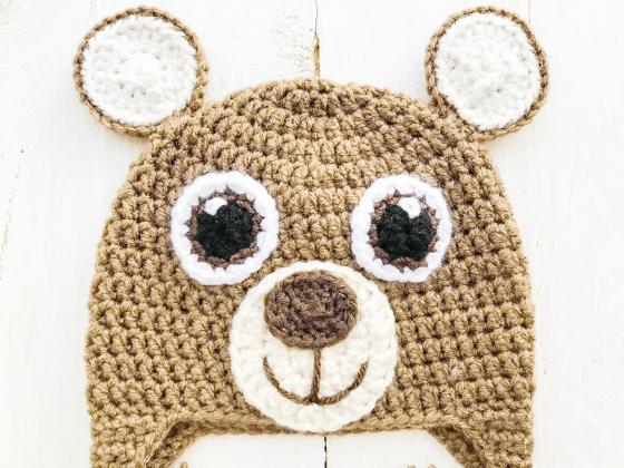 bear hat crochet beanie crochet pattern free