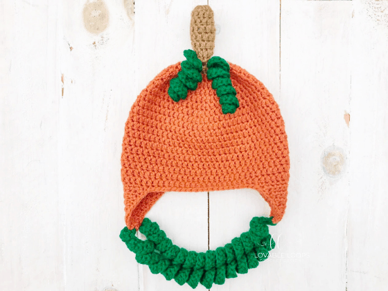 pumpkin hat crochet pattern free