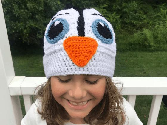 penguin hat crochet beanie crochet pattern free
