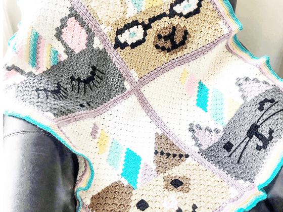unicorn blanket crochet pattern free