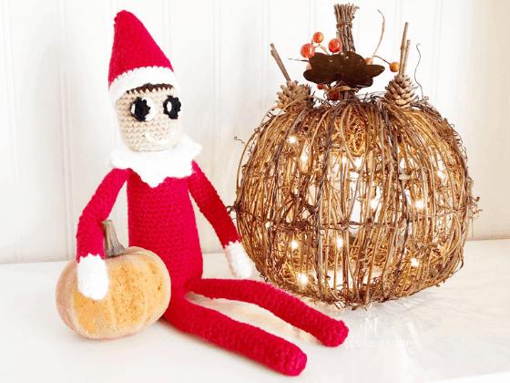 elf on the shelf crochet pattern