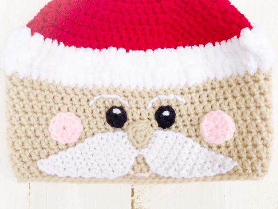 santa beanie crochet beanie crochet pattern free