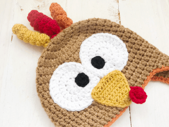 turkey hat crochet beanie crochet pattern free