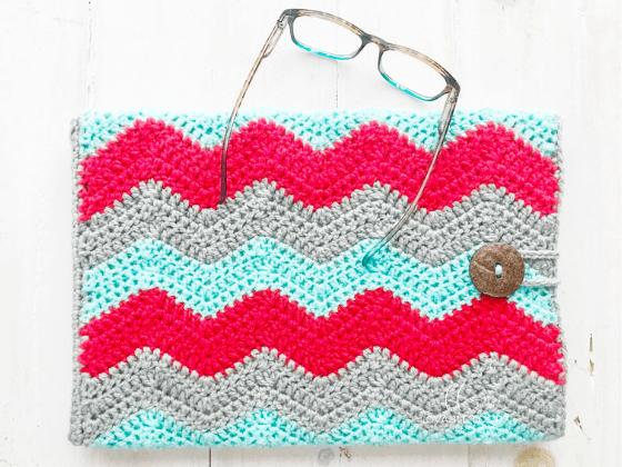 laptop sleeve crochet pattern