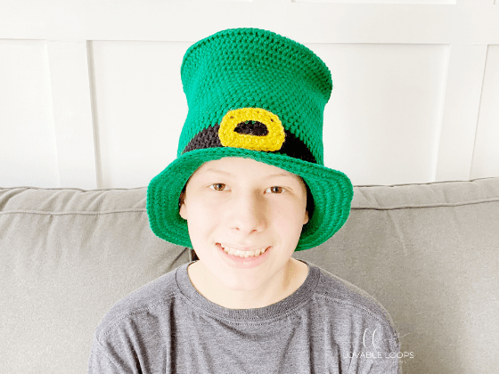 leprechaun top hat crochet pattern free