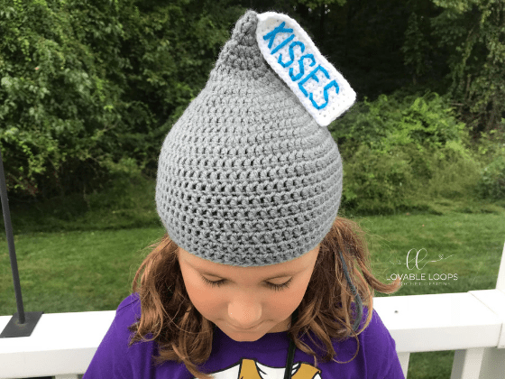 hershey kiss hat crochet pattern free