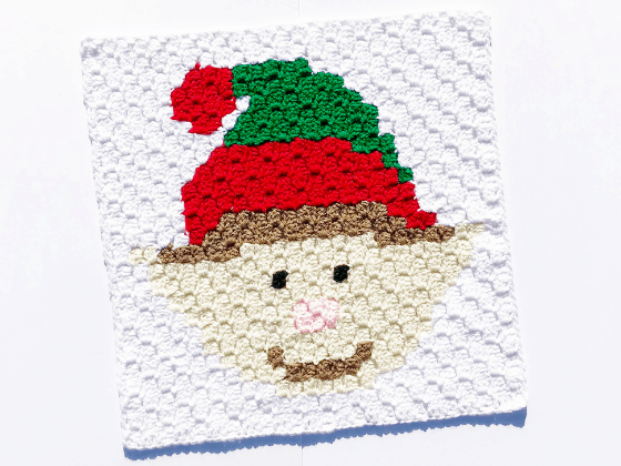 corner to corner elf crochet pattern