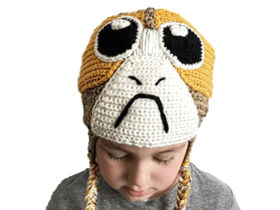 porg hat crochet beanie crochet pattern free