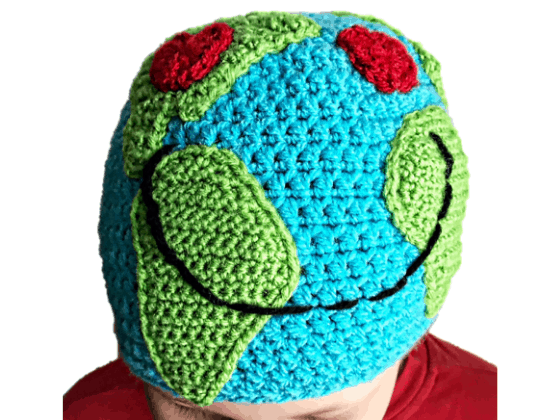 earth hat crochet pattern free