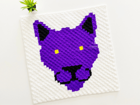 corner to corner panther crochet pattern