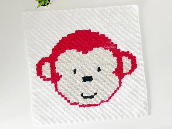 corner to corner monkey crochet pattern