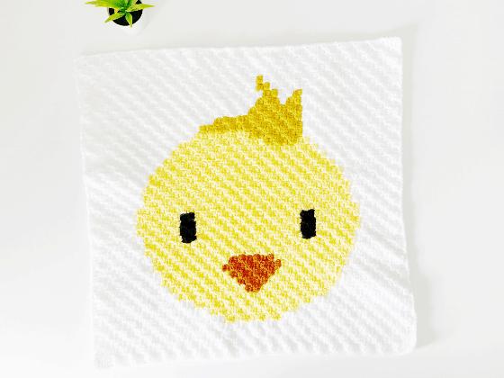 corner to corner chick crochet pattern